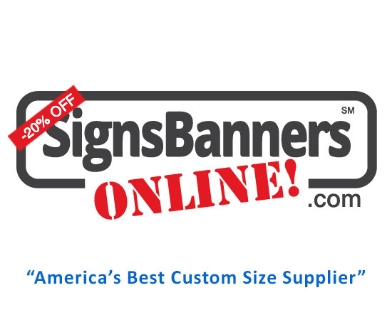 United States Signs Banners Online Discount Logo
